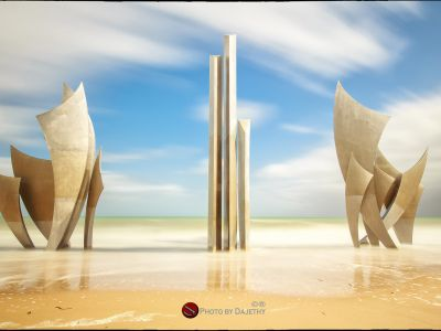 Memorial D Day Omaha Beach Normandia By Dajethy